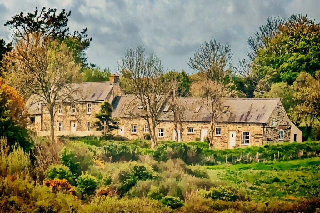 Yr hafan Farm House and holiday cottages