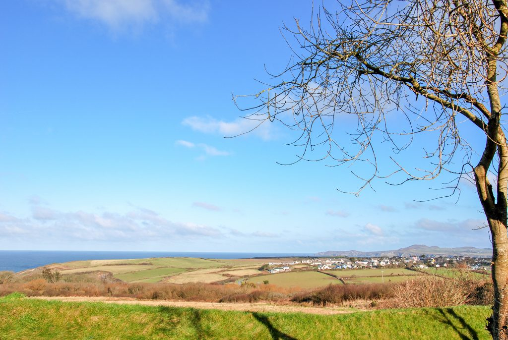 Yr Hafan- Sea views from Abercastle Barn Suite Bed and Breakfast in North Pembrokeshire