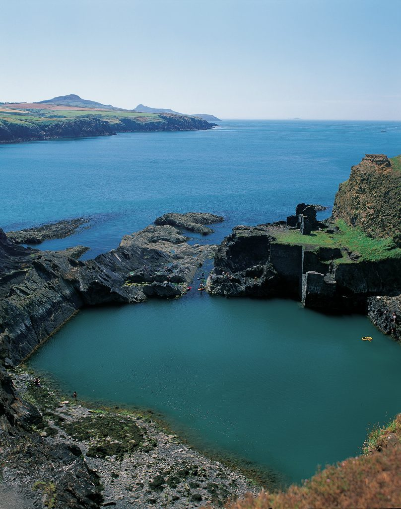 Blue Lagoon at Abereiddi