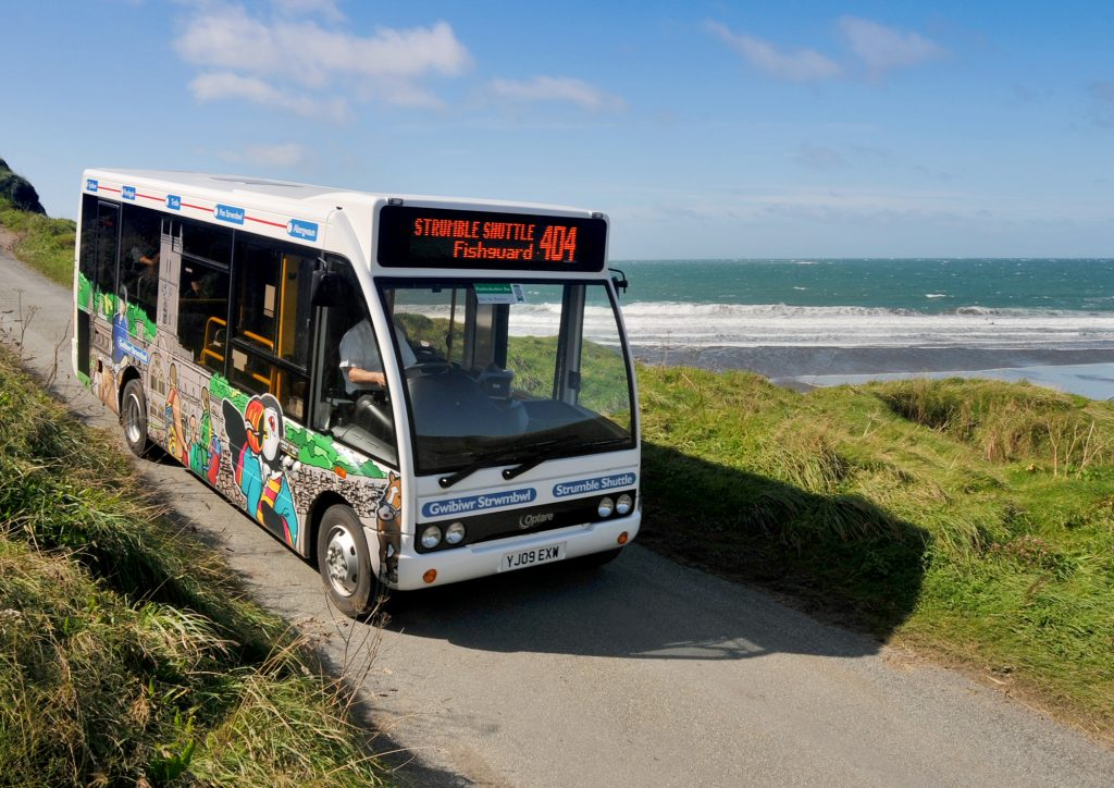 Pembrokeshire County Council Shuttle Buses