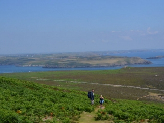 Ramsey Island - views across to St. Davids Head