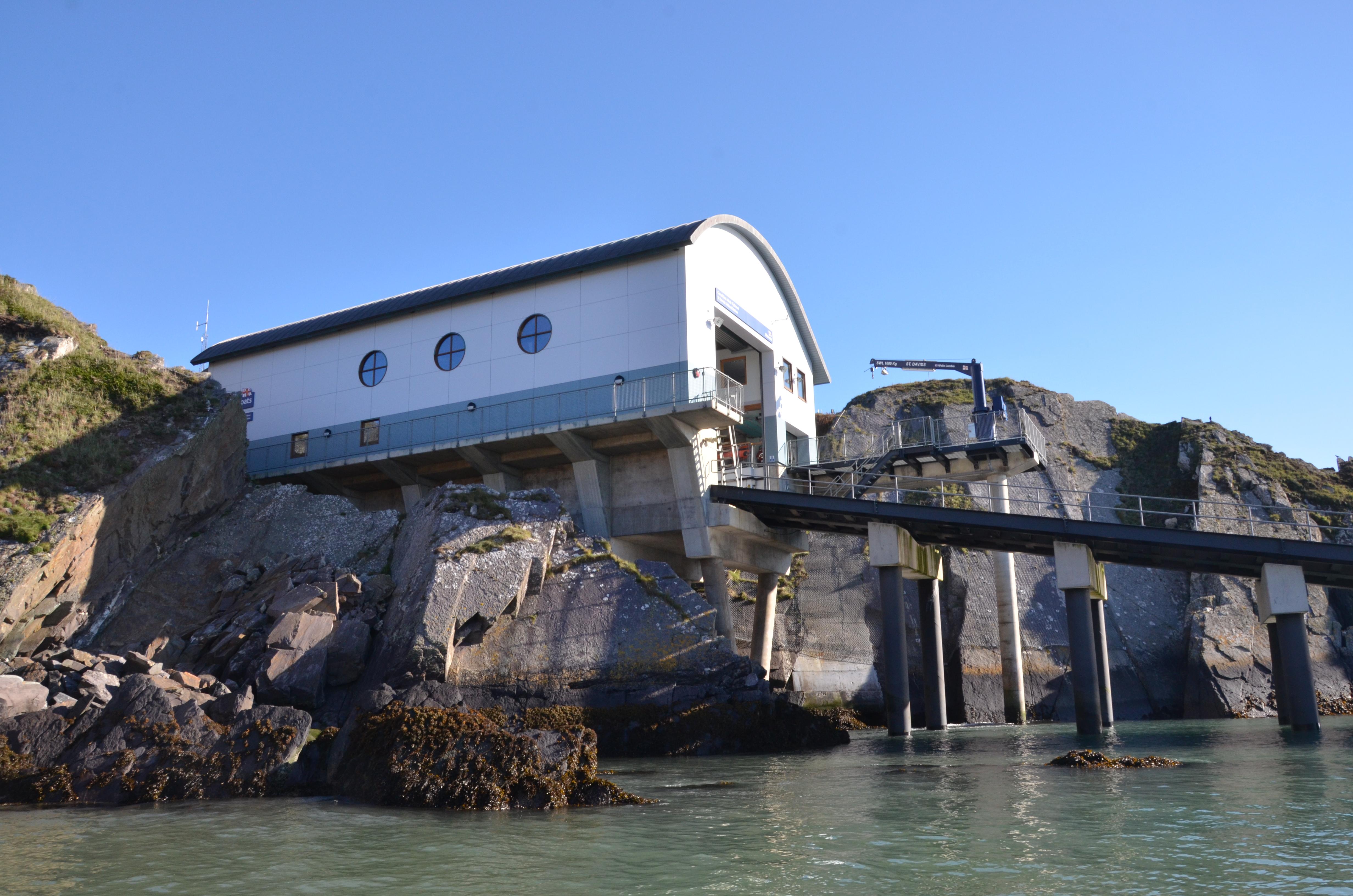 St Justians Life Boat Station near St. Davids