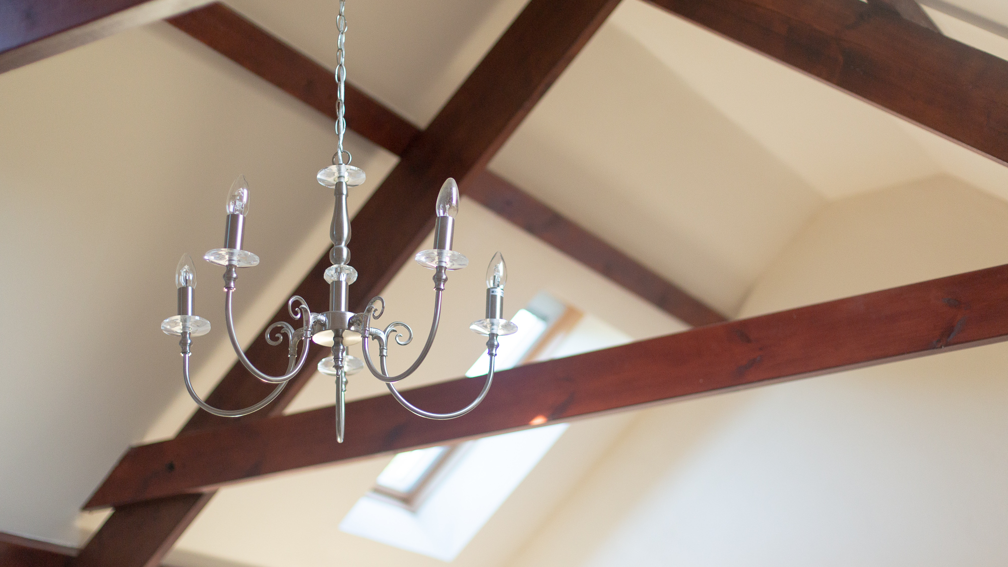 Abercastle B&B Barn Suite stylish lighting