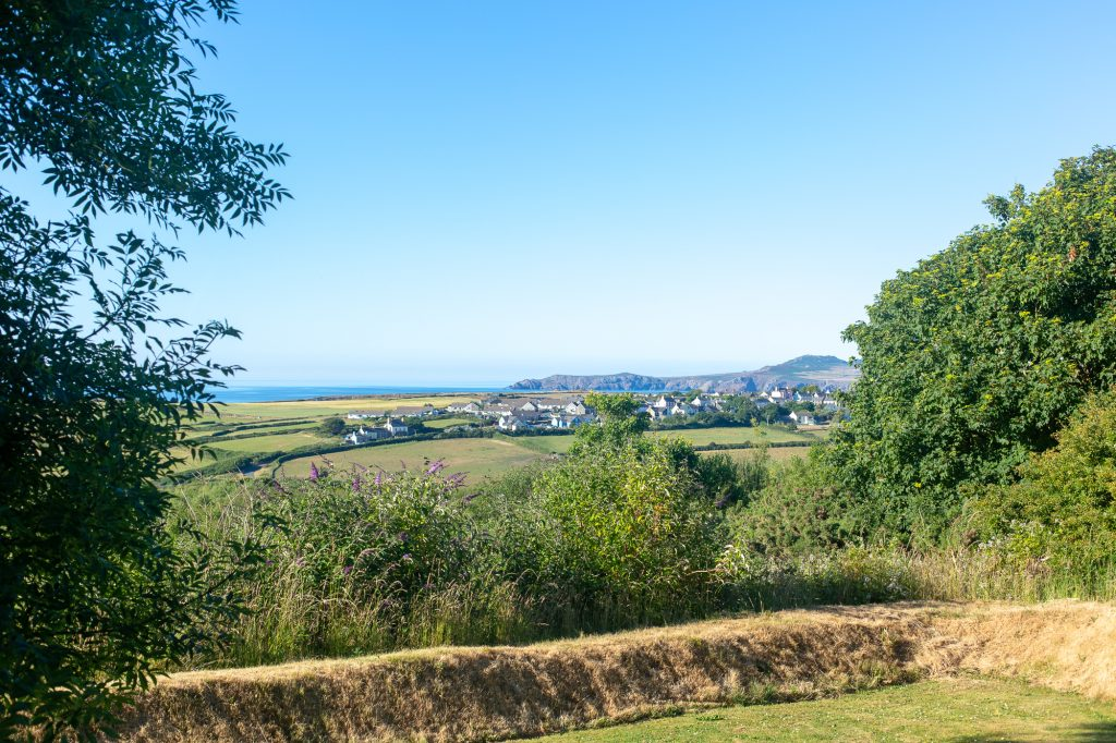 Yr Hafan - Abercastle Barn Suite - Boutique Bed & Breakfast with sea views in North Pembrokeshire