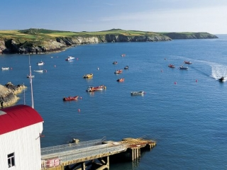St Justinians lifeboat station
