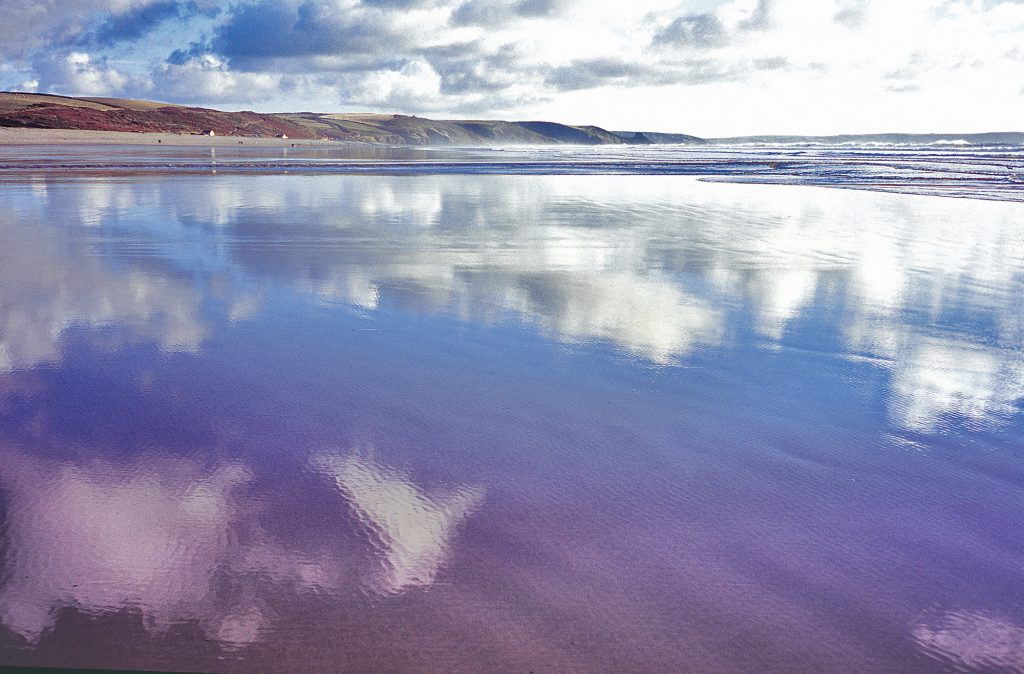 Winter Newgale beach