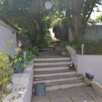 Yr Hafan courtyard garden and patio area