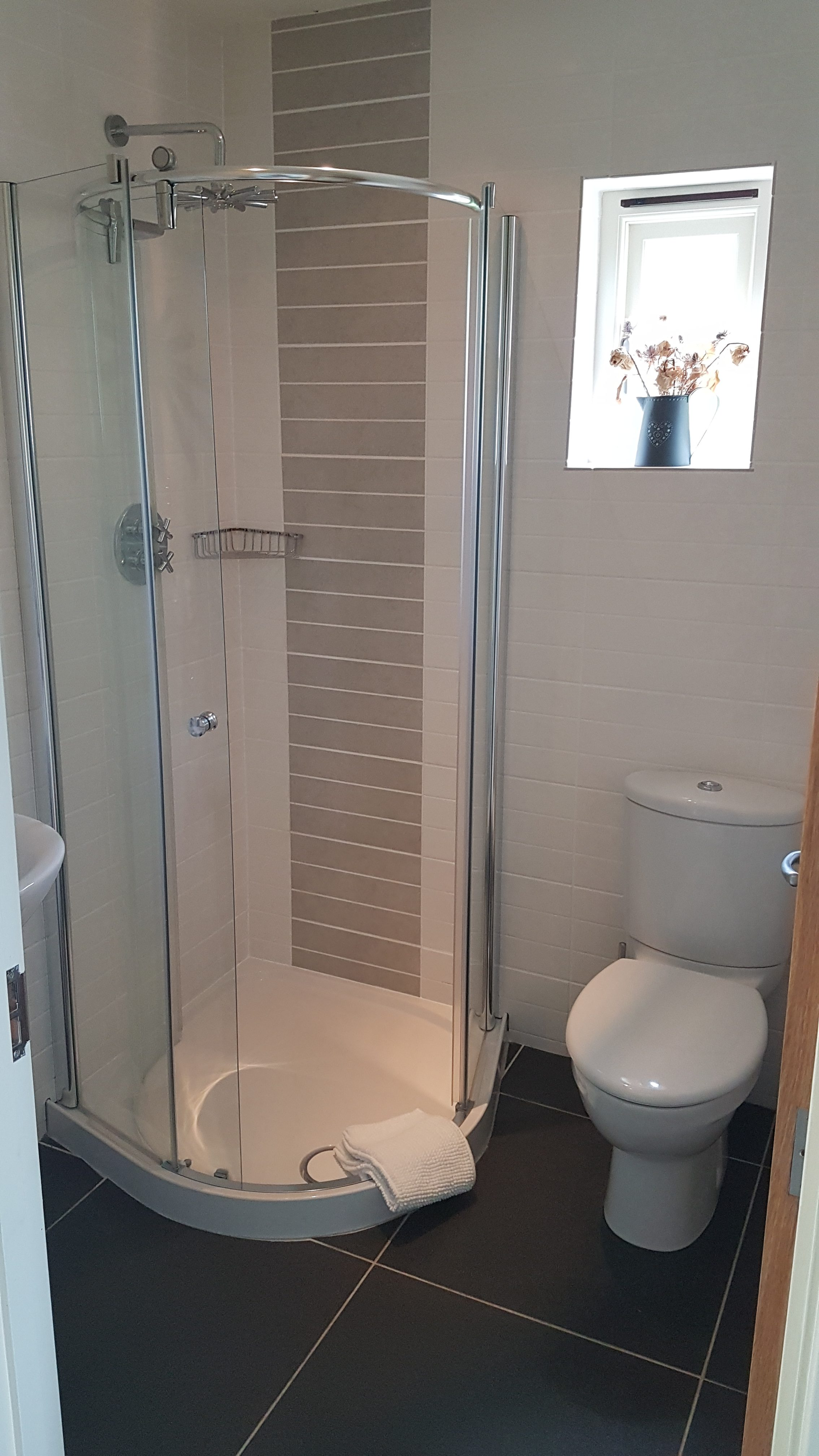 Yr Hafan Twin ensuite shower room