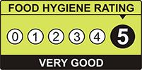 Food Hygiene Rating 5 Star