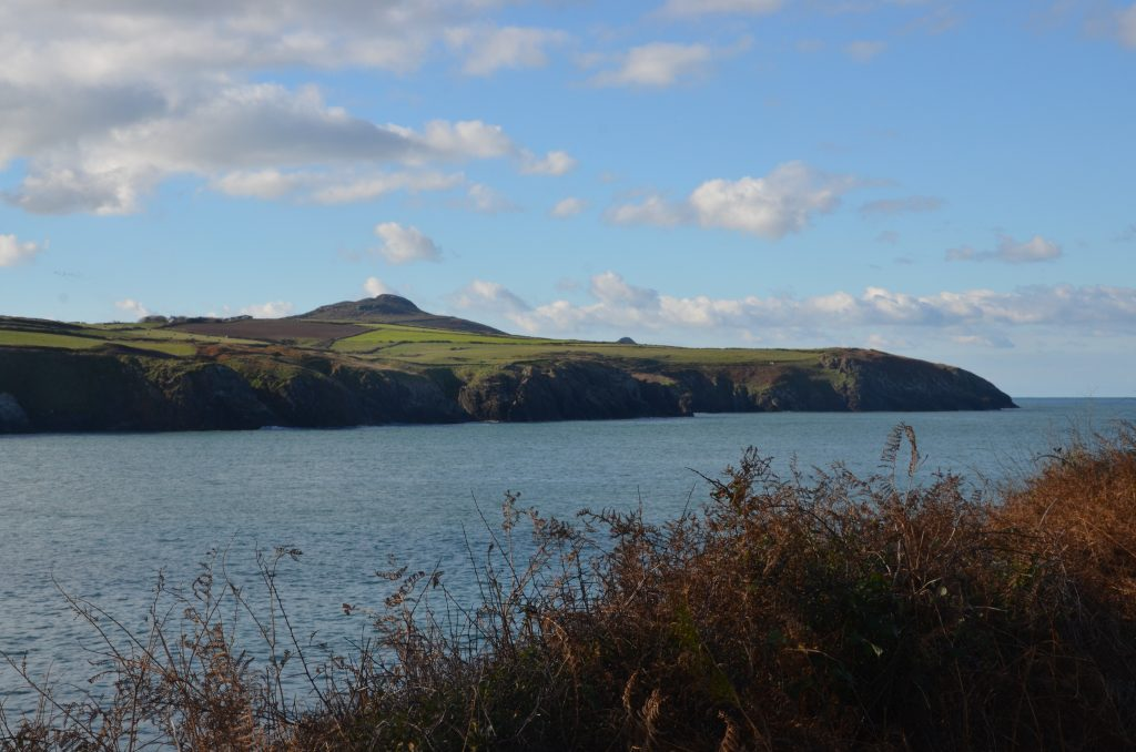 Abereidy bay close to Yr Hafan Holiday cottages